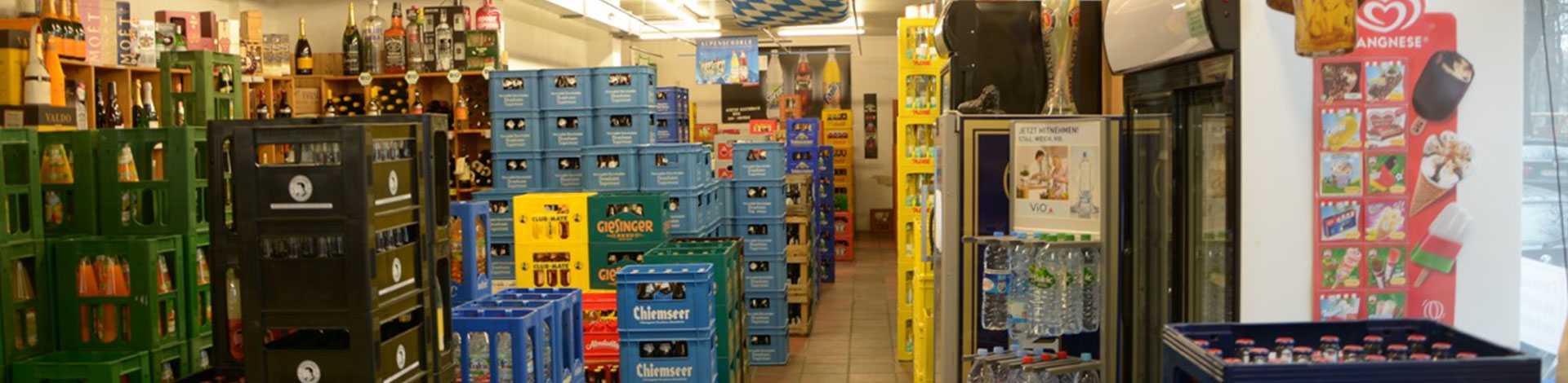Getränkemarkt und Lieferservice   Isarquelle München